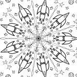 Mandala Rakete von Andreas Splett