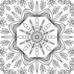 Mandala Floral 2 von Andreas Splett